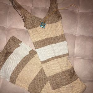 Soft knit midi dress